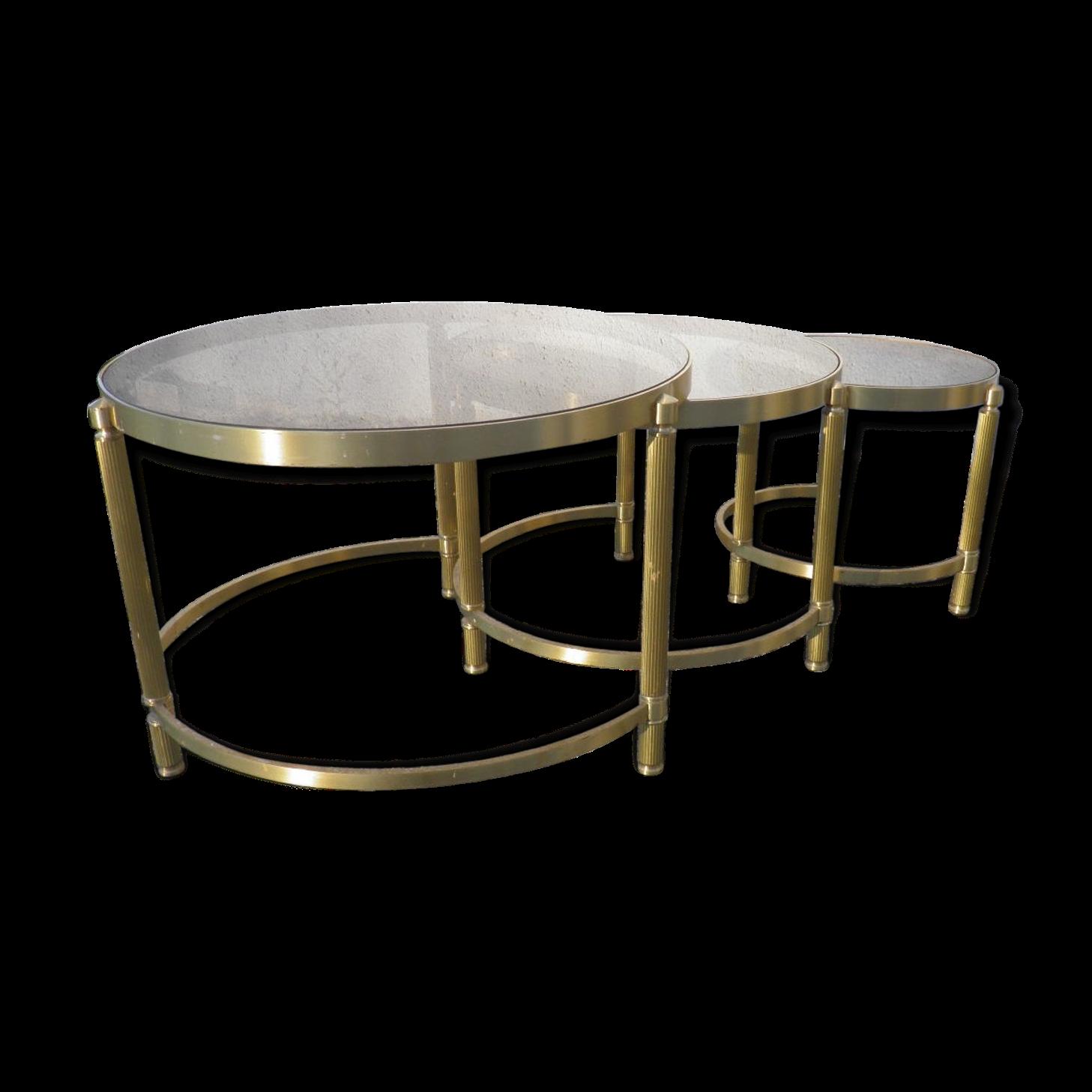 table basse gigogne design solde table basse gigogne en verre design mm with table basse. Black Bedroom Furniture Sets. Home Design Ideas