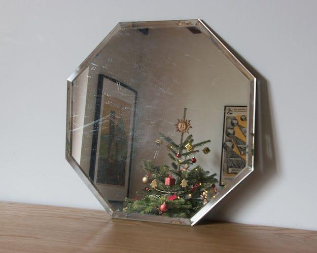 Miroir biseauté 30x30cm