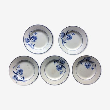 Lot of 5 plates Alberic Gien