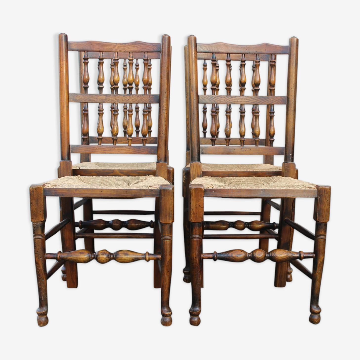 Set de 4 chaises
