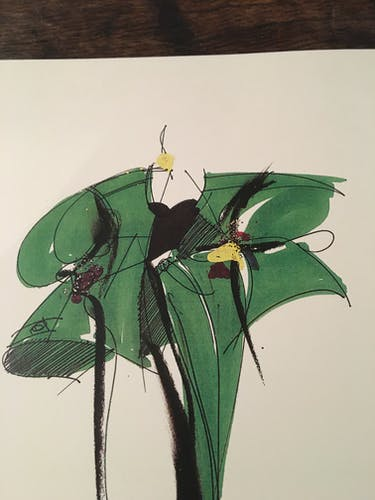 Christian Dior : illustration de mode et rare  catalogue collection printemps - été 1991