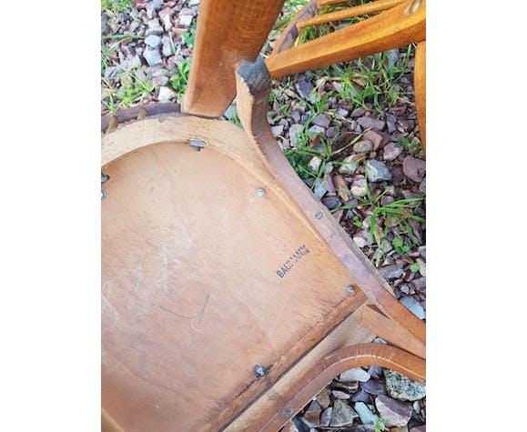 Series of 5 Baumann bistro chairs No.12