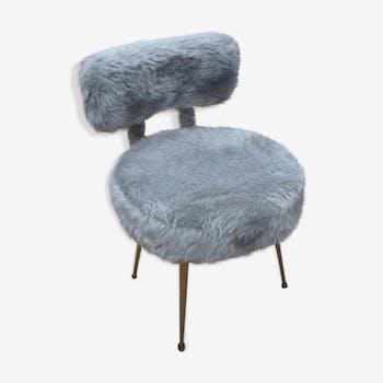 s 39 asseoir en laiton vintage d 39 occasion. Black Bedroom Furniture Sets. Home Design Ideas