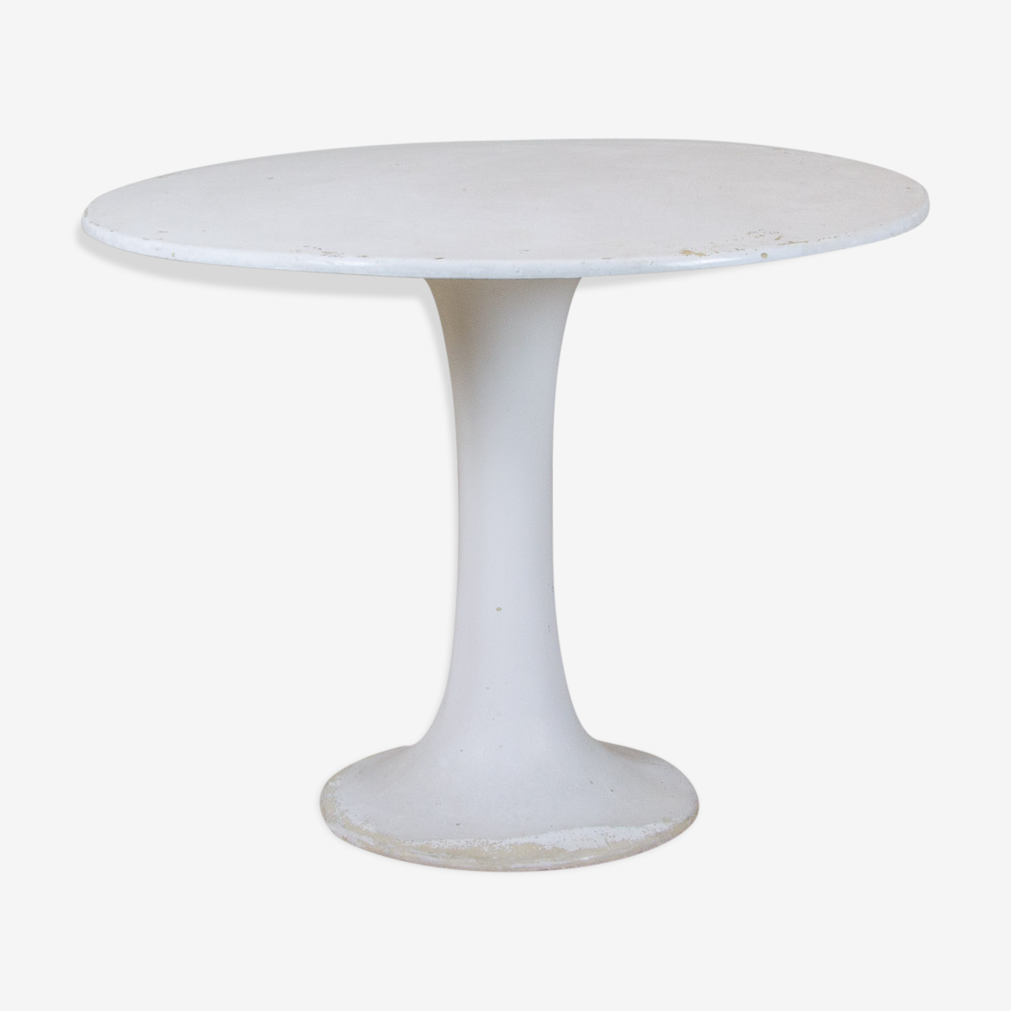 Table diabolo blanche