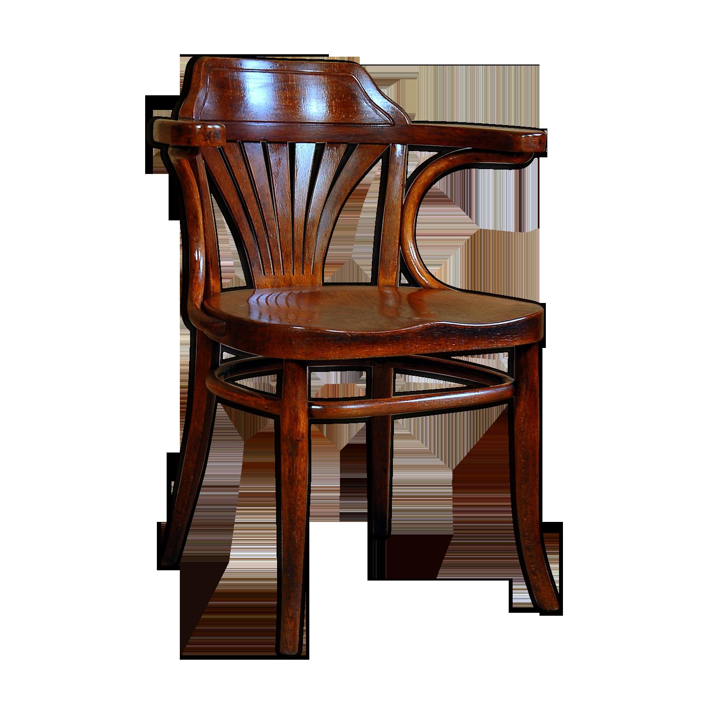 Fauteuil bureau thonet ca bois matériau bois couleur