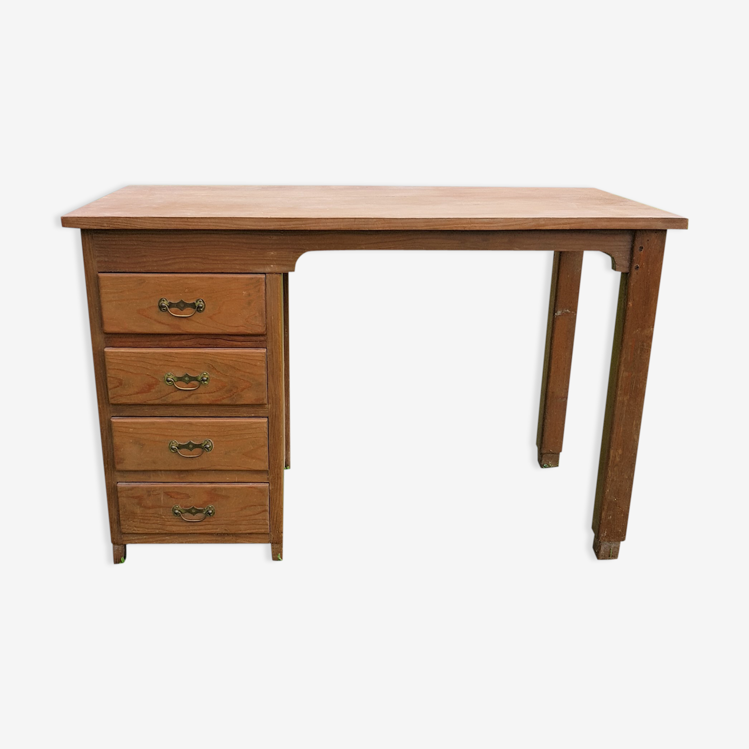 Office 4 old wooden drawers