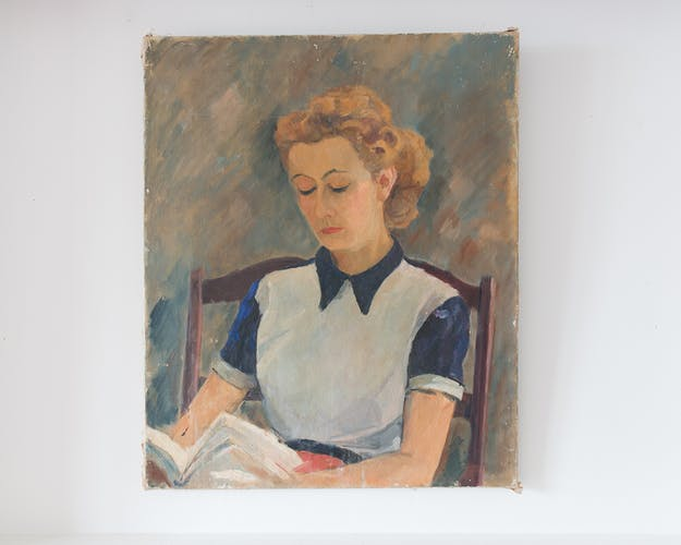 "Portrait ""The Reader"""