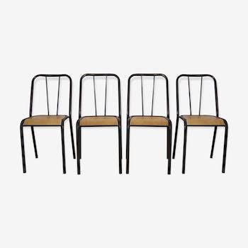 Set de 4 chaises vintage