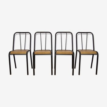 Set of 4 chairs vintage