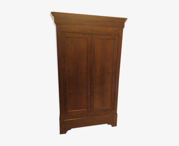 armoire ancienne style louis philippe bois mat riau. Black Bedroom Furniture Sets. Home Design Ideas