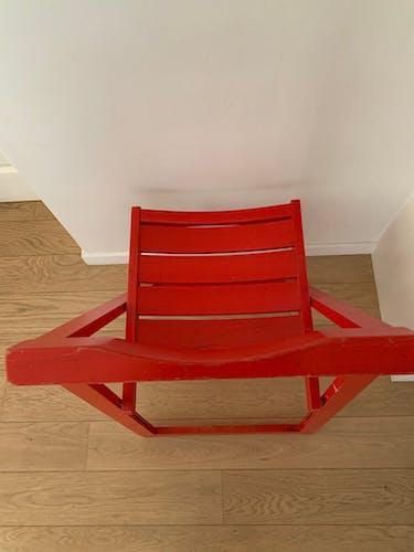 Duo chaises pliantes vintage
