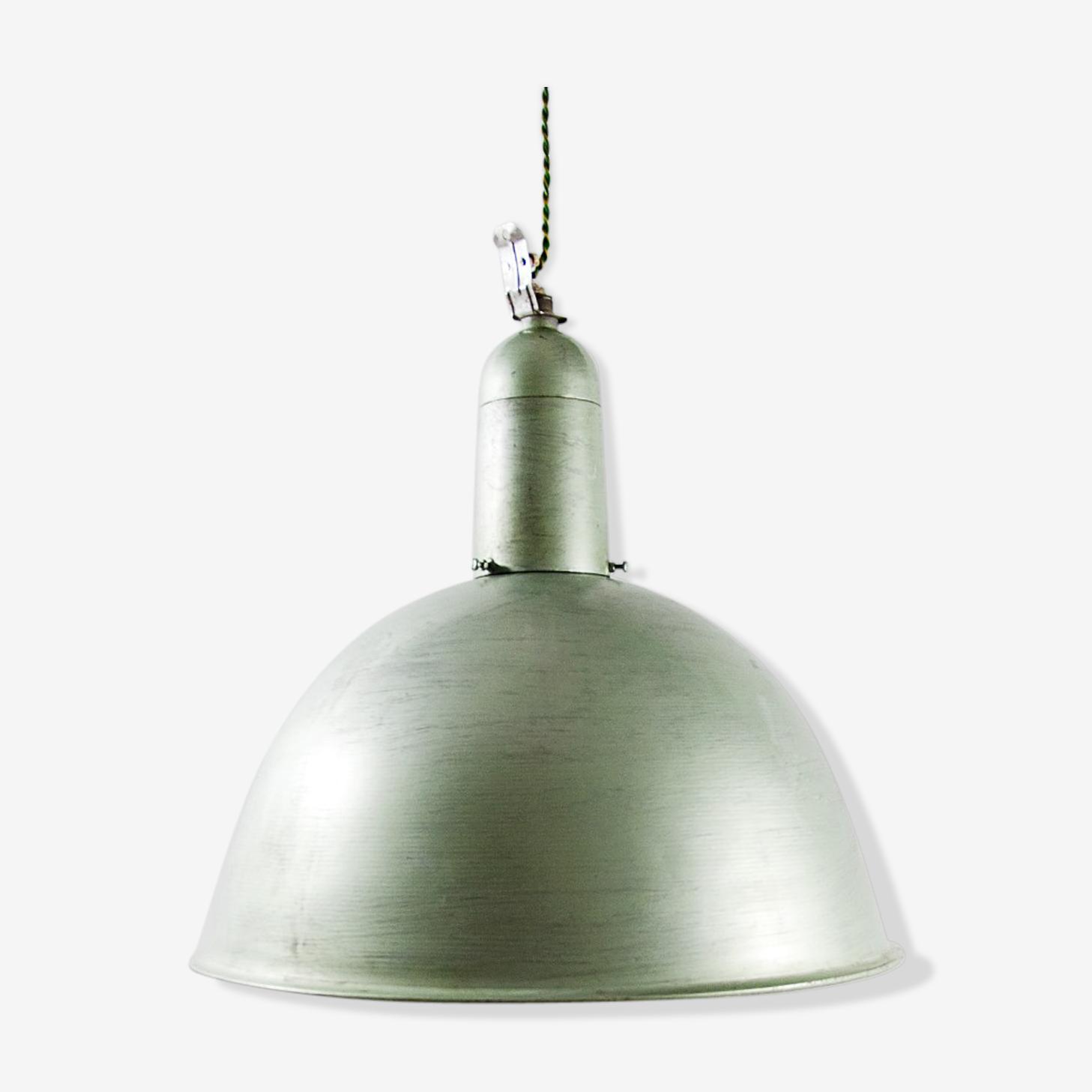 The Norwegian brand Glamox 70s industrial lamp