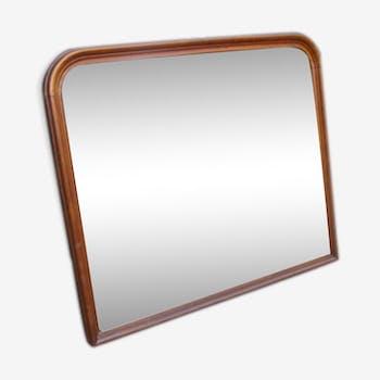 Miroir Louis-Philippe ancien - 80 x 67
