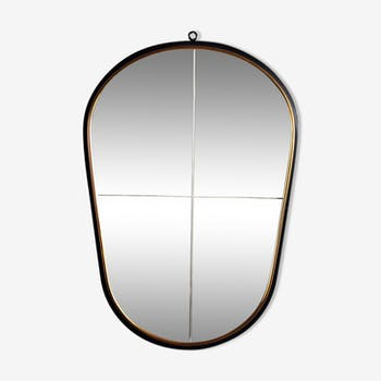 miroir de couleur noire vintage d 39 occasion