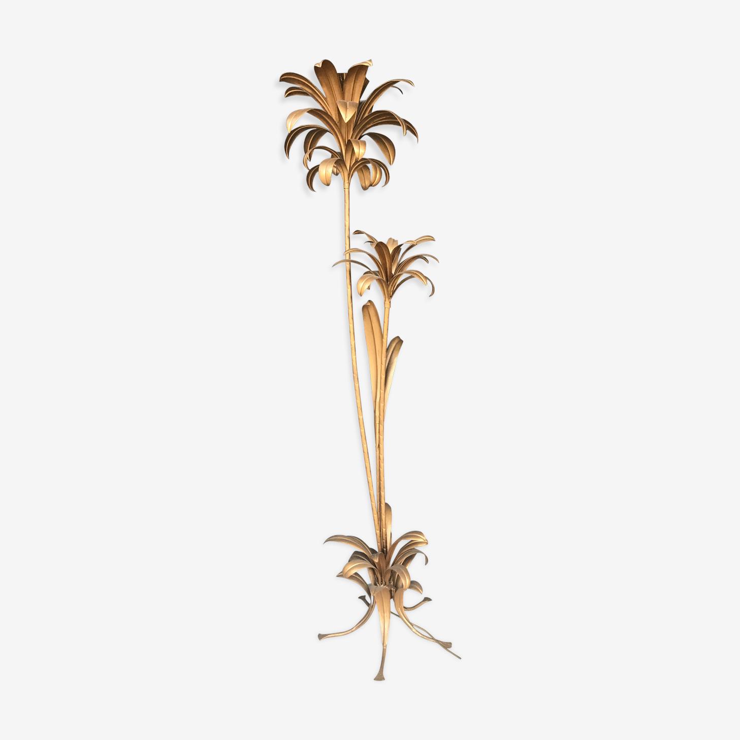 Lampadaire végétal