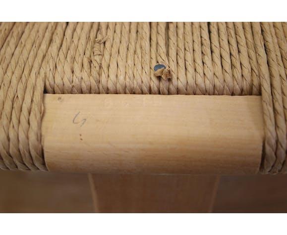 Chaise Wishbone CH 24 de Hans Wegner en chêne