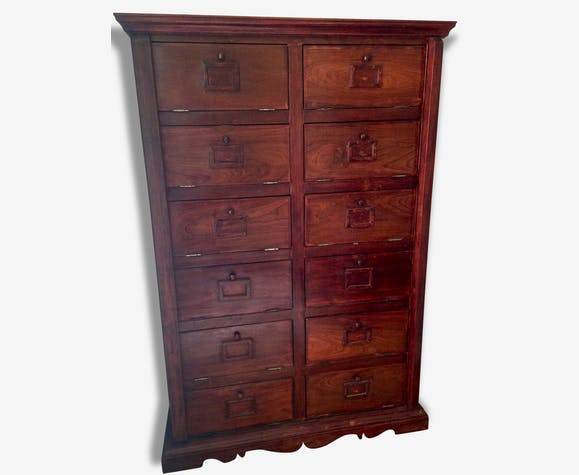 meuble rare de rangement en bois de rose origine cambodge bois mat riau bois couleur. Black Bedroom Furniture Sets. Home Design Ideas