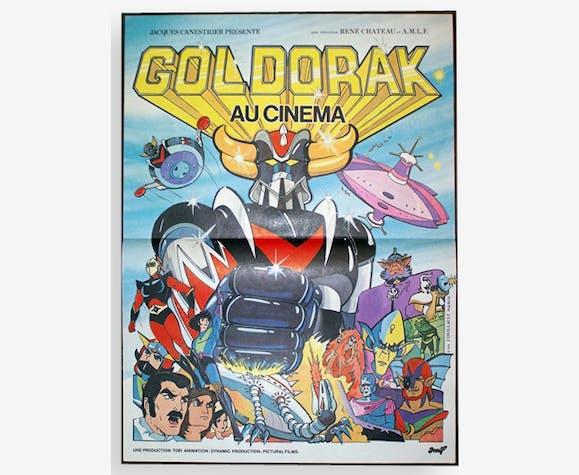 Affiche cinéma Goldorak, ancienne, originale de 1979 (40x60)