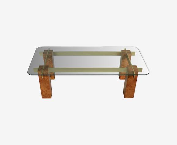 """Table basse de Gabriela Crespi, modèle """"Last Century"""", Italie circa 1970"""
