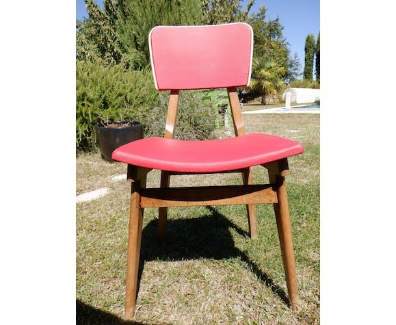 Lot de 5 chaises 1960