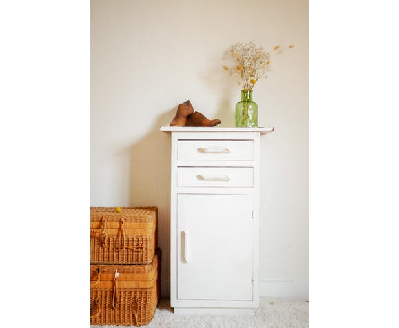 Small antique furniture, wooden clothing