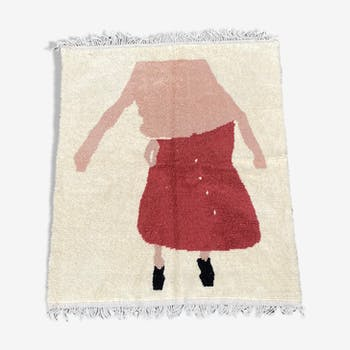 Beni Ouarain Berber carpet 205x270 cm