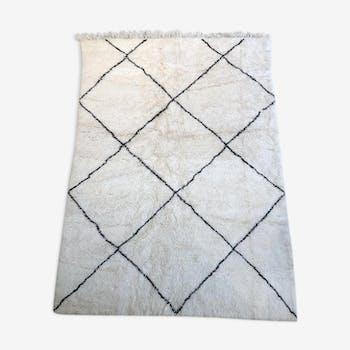 Berber carpet, beni ouarain carpet 225x155cm