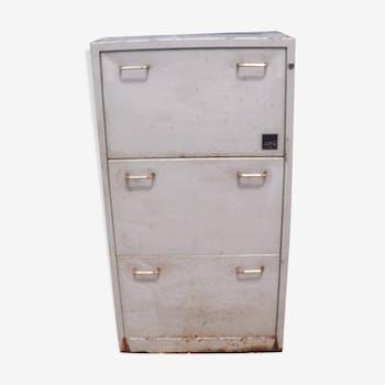 "Industrial furniture metal 3 drawers ""Alpia"""