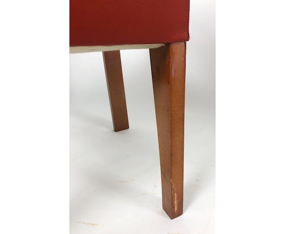 Hugues chevalier: pair of armchairs bridge - model ying