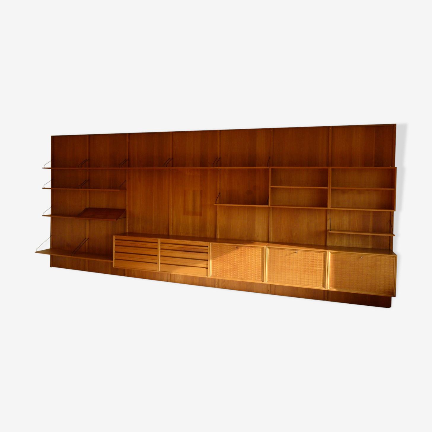 Système d'étagères vintage Royal System par Poul Cadovius pour Cado