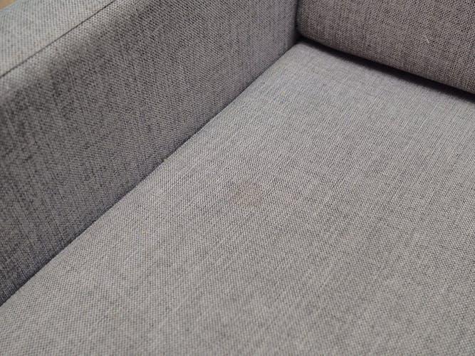 Canapé gris, design danois