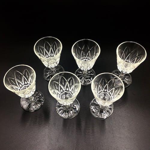 Set of 6 liqueur glasses