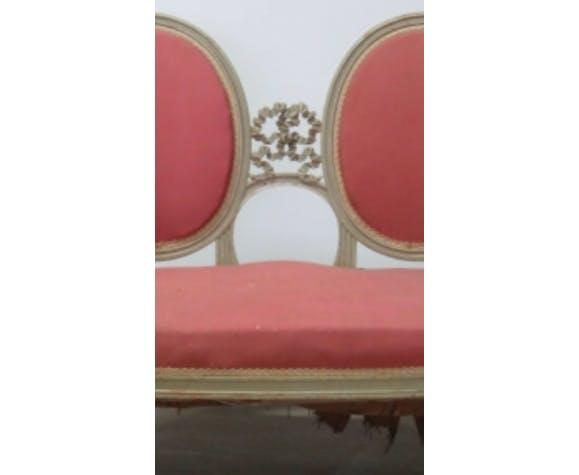 Banquette de style Louis XVI