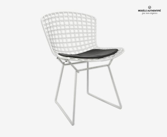 En Fil Blanc Design Bertoia Chaise Métal Nlet6mv Knoll 7b6fyvYg