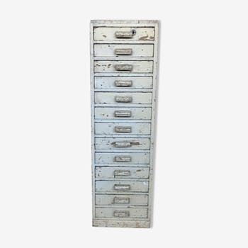 Chest of drawer with 13 drawers