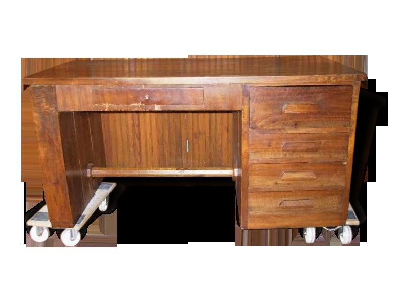 Bureau bois ancien années bois matériau bois couleur