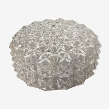 Vintage glass ceiling lamp