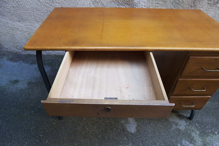 Industrial office schoolmaster 4 drawers