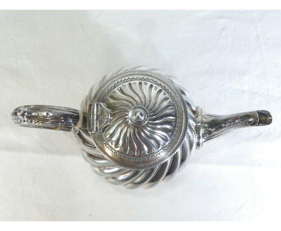 Théière en metal argenté silver plate