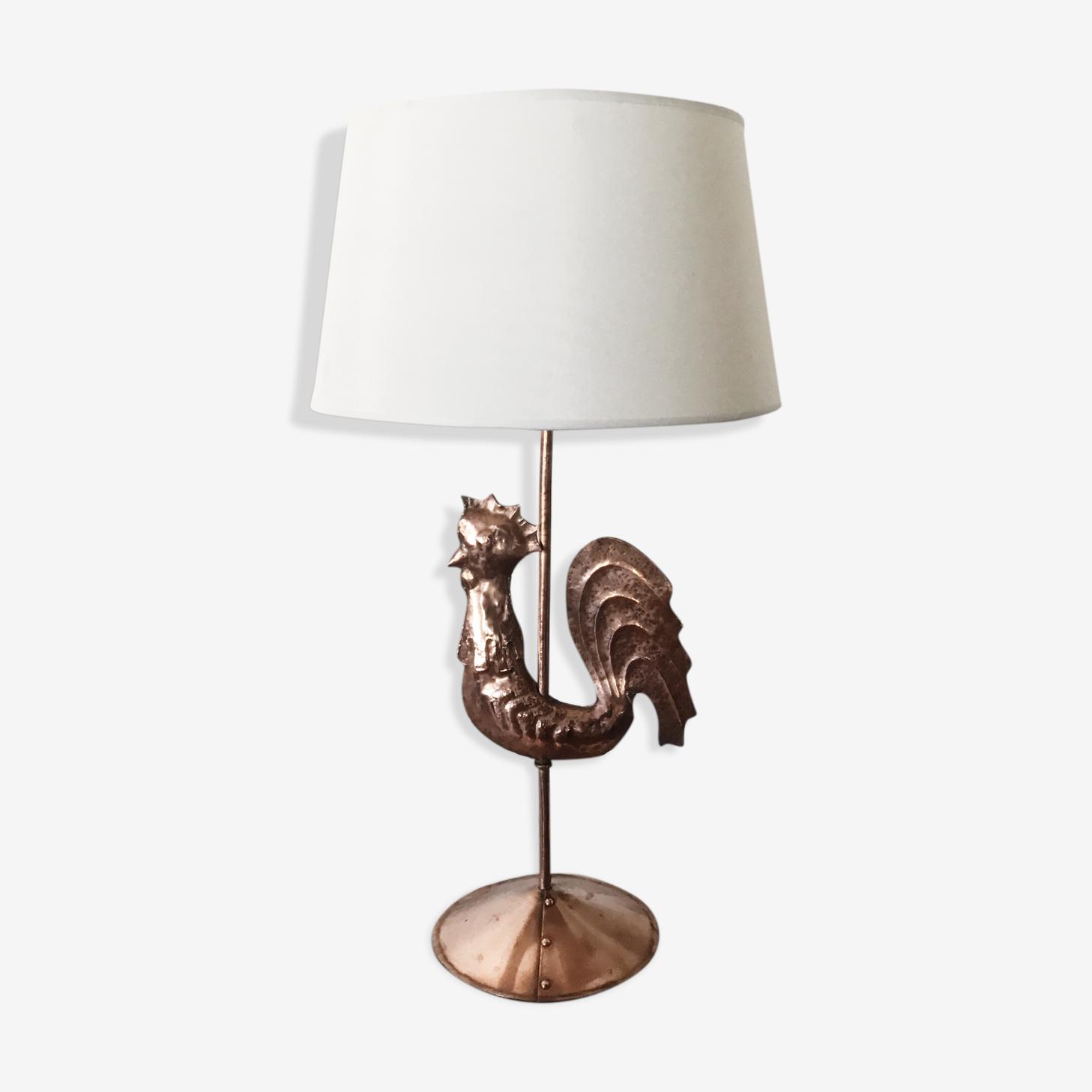 Lampe shabby chic 1950s
