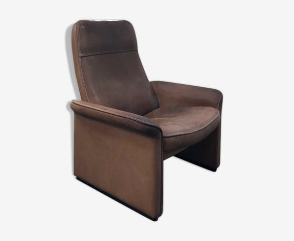 De Sede Ds 50 Fauteuil.Swiss Club Ds50 Chair Brand Of Sede 1960 Cuir Marron