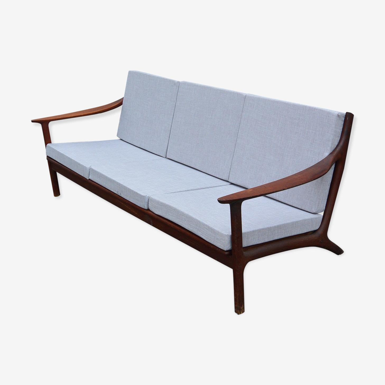 Canapé scandinave 3 places des années 60