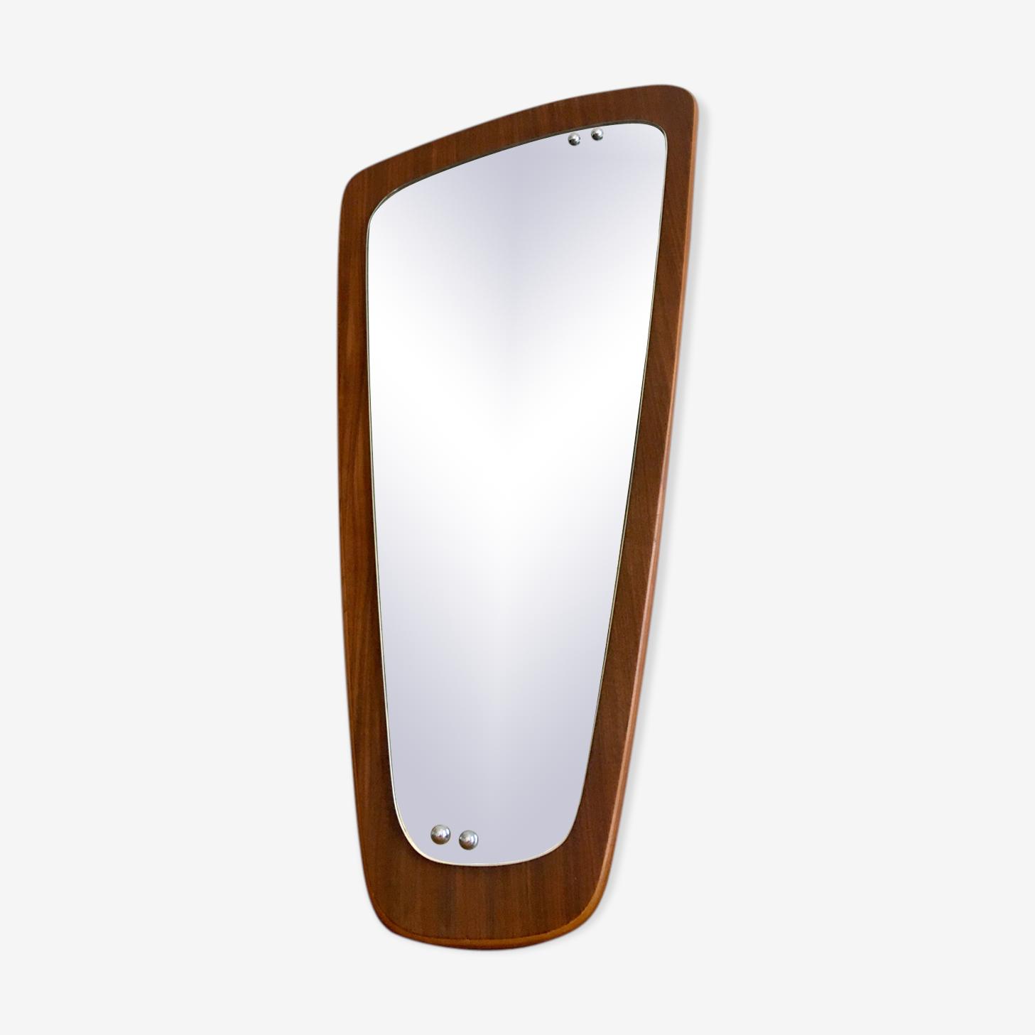 Miroir asymétrique scandinave 77x37cm