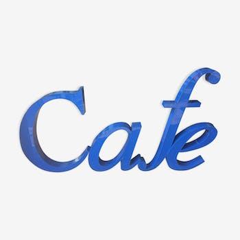 Lettres café
