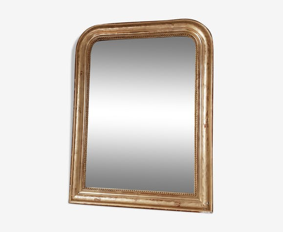 Miroir doré Louis Philippe 78x60cm