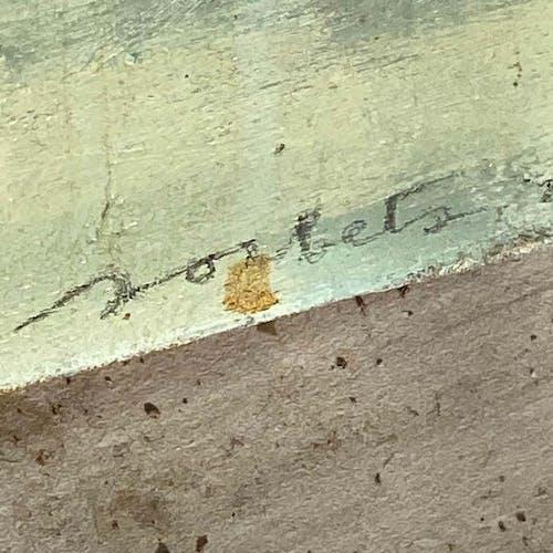 Tableau, huile sur toile d'André Sorbets