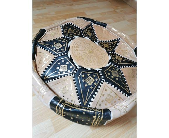 Pouf marocain