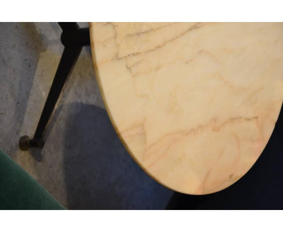 Italian cocktail in pink marble table around 1960