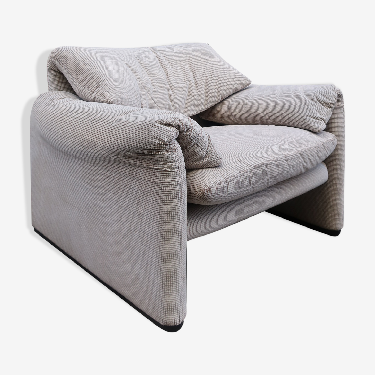 Chair Maralunga of Cassina, edition of 80s