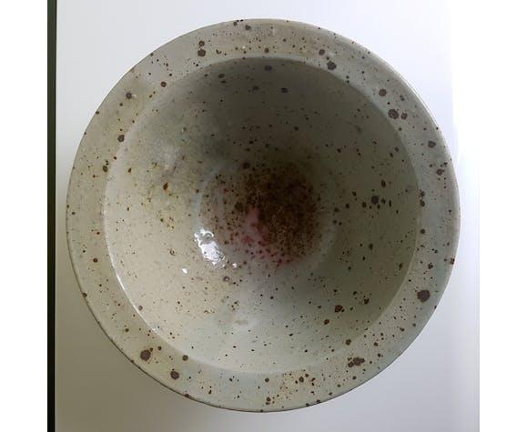 Cut sandstone pyrite